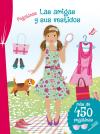 Pegatinas - Las amigas y sus vestidos
