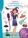 Pegatinas - Las chicas y sus disfraces